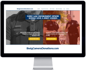 WOLFCOM® Launches Police Body Camera Donation Website BodyCameraDonations.com