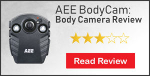 aee bodycam body camera review 3 stars