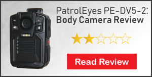 patroleyes pe-dv5-2 body camera review 2 stars